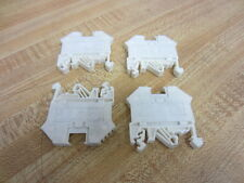 Conta Clip RK 2,5-4 RK254 Terminal Block White (Pack of 4) - Used