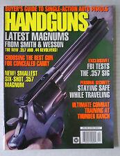 HANDSGUNS FIRE ARMS AMMO WEAPONS RIFLES MAGAZINE 9MM .45 1996 APRIL MAGNUMS