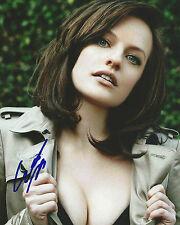 GFA Mad Men-Peggy Olson Elisabeth Moos Signiert 8x10 Foto MH3 Coa