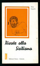 IOPPOLO NINO RISATE ALLA SICILIANA GRECO 1978 DIALETTO SICILIA BIBLIOTECA SICULA