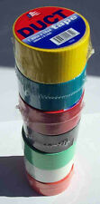 Colored Duct tape Assortment, 16 Rolls, Made in USA, FREE SHIPPING