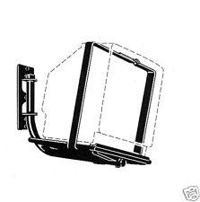 "KV #3026C TV WALL MOUNT, BLACK, 120-LBS, 25""-27"""
