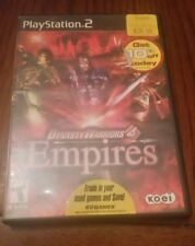 Dynasty Warriors 4: Empires (Sony PlayStation 2, PS2, 2004) no manual