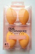 Real Techniques 1553 Miracle Complexion Sponges - Orange, Pack of 4