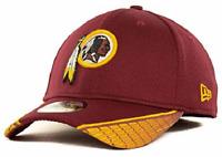 WASHINGTON REDSKINS NFL NEW ERA 39THIRTY HAT CAP *SHIPS IN BOX* SIZE S/M