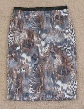 Animal Print Straight, Pencil Hand-wash Only Skirts for Women