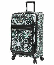 """NEW Steve Madden Tribal Luggage 25"""" Expandable Suitcase With Spinner Wheels"""