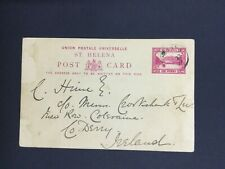 MOMEN: ST HELENA #CP1 1897 PC USED LOT #5110