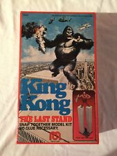 1976-MEGO KING KONG BOX ONLY W/ ORIGINAL INSTRUCTIONS AND NM-THE LAST STAND VHTF