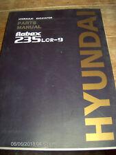 Hyundai ROBEX 235LCR-9 HYDRAULIC EXCAVATOR Parts Manual Part #95Q6-30030    #264
