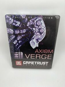 Axiom Verge Collector's Edition PC Gametrust Collection Steelbook Sealed