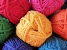 Cygnet Whopper Cotton - Large 100g Ball - 8 Colours - Super Chunky - Yarn - Wool