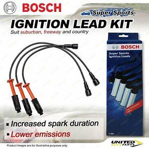 Bosch Ignition Leads for Ssangyong Korando KJ Musso FJ 3.2L 6cyl 1996-2002