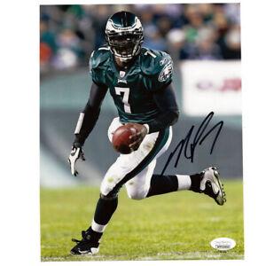 NFL Philadelphia Eagles Michael Vick #7 Autograph Signed Photograph 16x20 JSA