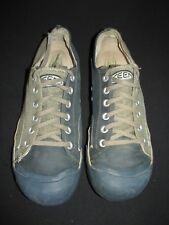Keen Coronado Green Canvas Leather Low Lace Up Casual Shoes Men's 13M