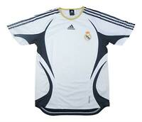 Real Madrid 2006-07 Authentic Home Shirt (Excellent) M Soccer Jersey