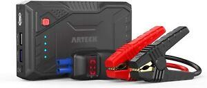 Arteck JS08 800A Peak Portable Car Jump Starter Power Bank Battery Charger 12V