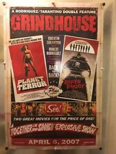 """Tarantino GRINDHOUSE Double Sided Rolled 26x39"""" Poster"""