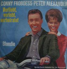 """7"""" 1963 RARE MINT-! CONNY FROBOESS PETER ALEXANDER Verliebt verlobt verheiratet"""