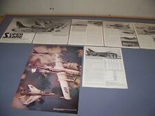 VINTAGE..F-100 SUPER SABRE (PART-1)..HISTORY/PHOTOS/DETAILS..RARE! (992M)