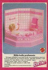 X2128 Barbie - Vasca da bagno - Mille bolle profumate - Pubblicità 1988 - Adv.