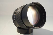 *MINT* CARL ZEISS CONTAX YASHICA  PLANAR 85mm f 1.4 LENS.  + SONY E ADAPTER