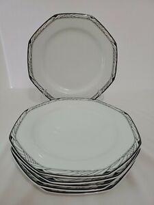 "Studio Nova SYNTHESIS Y0031 - Set of 6 - Dinner Plate 10 3/8"""