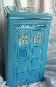 Dr Who Anniversary TARDIS tin