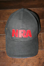 NRA National Rifle Association Stand and Fight Adjustable Black Baseball Cap Hat