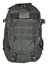 Tactical Urban Backpack Turtle Pack BLACK EastWest EDC Survival Hiking Day Pack*