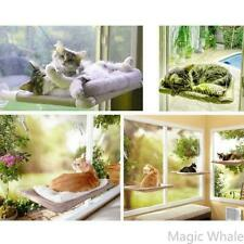 Hammock Cat Kitty Basking Window Perch Cushion Bed Hanging Shelf Seat