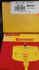 """Starrett #65546 Quickshot Bi-Metal Arbored Hole saw 4 -1/2""""  114mm"""