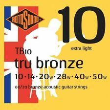 Rotosound TB10 Tru Bronze Aousti Guitar Strings 1050