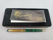 Lodis Executive Writing Instrument Monte Carlo Collection Green Ballpoint Pen