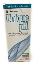 Menicon Unique pH Multi-Purpose Solution Plus RGP Lens Case, 4 fl oz EXP 1/21