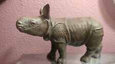 Lenox Fine Porcelain Greater Asian One-horned Rhino Calf 1992 Endangered Species