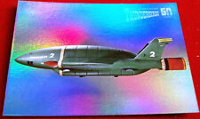 THUNDERBIRDS 50 YEARS - FOIL CHASE CARD - F4 - THUNDERBIRD 2 - Unstoppable Cards