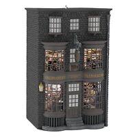 Ollivanders Wand Shop 2016 Hallmark Light Ornament HARRY POTTER Hogwarts Student