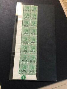 bahamas stamps mnhog block k378