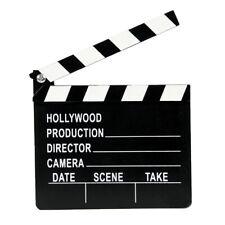 20 x 18cm Hollywood Directors Party Decoration Clapper Board Film Movie Prop