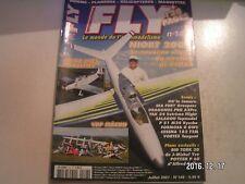 ** Revue Fly International n°148 Yak 54 extreme Flight / Sea Fury Graupner
