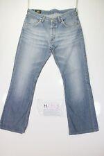 Lee Denver Flare Bootcut (Cod. H2353) Tg48 W34 L32 jeans usato ACCORCIATO zampa