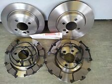 MINI ONE COOPER 1.6 FRONT AND REAR BRAKE DISCS & PADS 2001-2006 + SENSOR WIRES