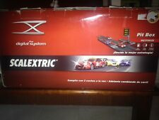 SCALEXTRIC DIGITAL SYSTEM CON PIT BOX tecnitoys exin ninco slot