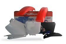 Honda Plastic Kit CR 125 1995 - 1997 CR 250 95 - 1996 OEM Red polisport Moto X