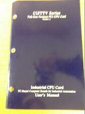 Full size Pentium C15TTV PC1 CPU Card Version 1.1 User's Manual *FREE SHIPPING*