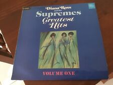 DIANA ROSS AND THE SUPREMES, VOLUME 1, VINYL 12""