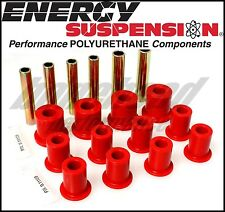 Energy Suspension 3.2105R Front Leaf Spring Bushing Set