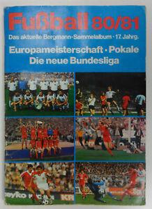Sammelbilder Bergmann Fußball Bundesliga 80/81 unkomplett 104 fehlen +1 Panini