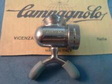 Campagnolo #1030/2 Pump Head NEW / NOS Vintage Chrome Steel- Blue Nipples